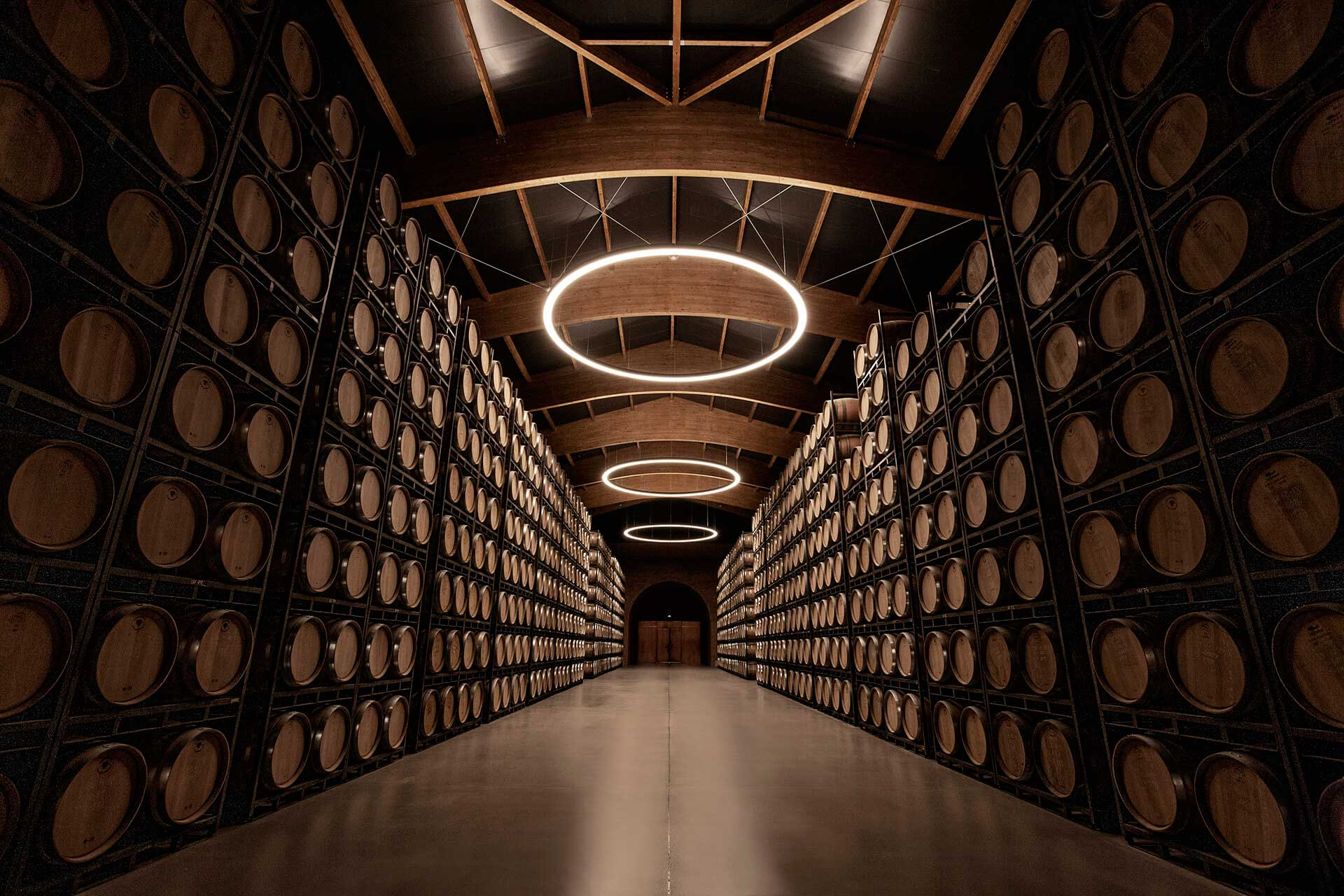 Construction of the Second largest Ageing Cellar in the World